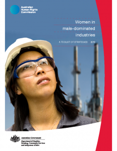 AHRC Women in Male Dominated Industries A Toolkit 2013