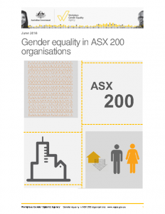 Gender Equality in the ASX200