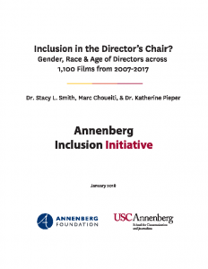 Inclusion in the Director's Chair