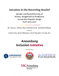 Inclusion in the Recording Studio
