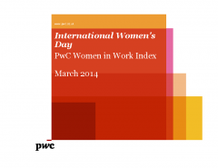 International Women's Day PwC Women in Work Index 2014