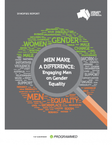 Men Make a difference Engaging Men on Gender Equality 2017