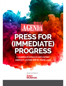 Press for (Immediate) Progress 2018