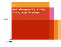 PwC Women in Work Index 2018