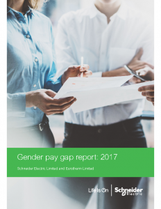 Schneider Electric Gender Pay Gap Report 2017