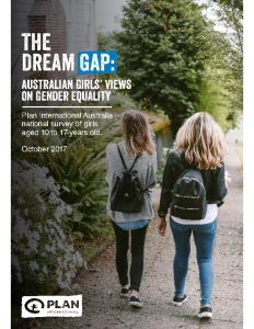 The Dream Gap Australian Girls' Views on Gender Equality 2017