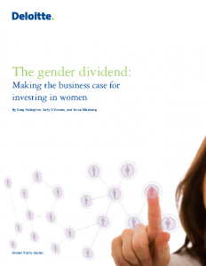 The Gender Dividend Making the Business Case for Investing in Women