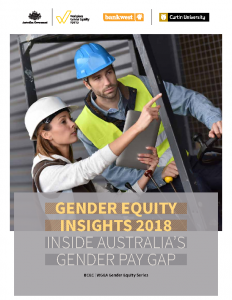 WGEA Gender Equity Insights 2018