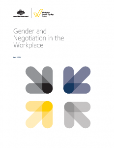 WGEA Gender & Negotiation in the Workplace