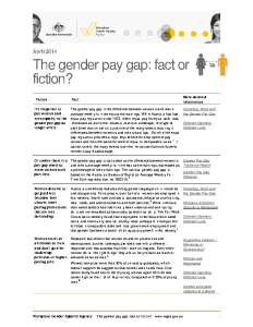 WGEA Gender Pay Gap Fact or Fiction