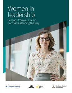 Women in Leadership Lessons from Australian Companies Leading the Way 2017