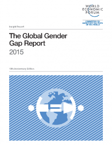 2015 World Economic Forum Global Gender Gap Report – 2015