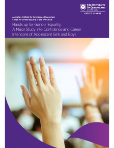 AGEC Report – Hands Up for Gender Equality