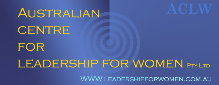 Australian Centre for Leadership for Women (ACLW)