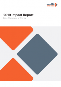 Male Champions of Change 2019 Impact Report – Detailed