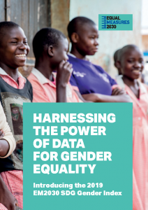 Equal Measures 2019 Harnessing the Power of Data for Gender Equality EM2030 SDG Gender Index