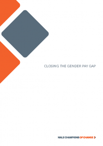 Male Champions of Change – Closing the Gender Pay Gap