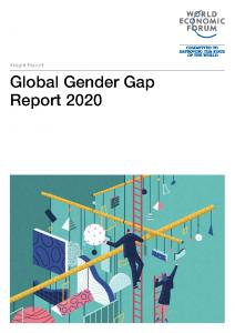 2020 World Economic Forum Mind the 100 Year Gap
