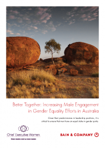 Bain & Company 2019 Better Together: Increasing Male Engagement in Gender Equality Efforts in Australia