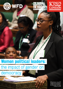 2020-07 WFD Global Institute for Women's Leadership The Impact of gender on democracy Women-political-leaders