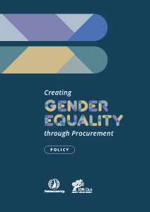 2020 Gender Equality Procurement – Sample Policy 30% Club Femeconomy