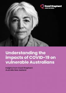 2020-10 Good Shepherd – Impact of Covid on Vulnerable Australians