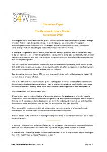2020-12-15 eS4W-The-Gendered-Labour-Markets