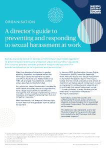2021-04 AICD Guide to preventing sexual harassment