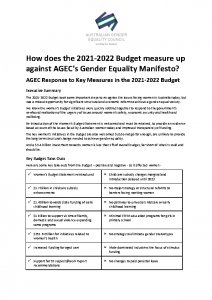2021-06-15 AGEC Budget detailed response FINAL