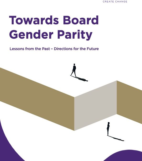 AGEC instrumental in groundbreaking report – Towards Board Gender Parity