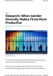 2019 HBR research-when-gender-diversity-makes-firms-more-productive-hbr2019