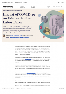 2021-03 Annuity.org Article Measuring the Impact of COVID-19 on Women in the US Labor Force