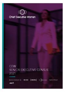 2021-09-08 CEW 2021 Senior Executive Census