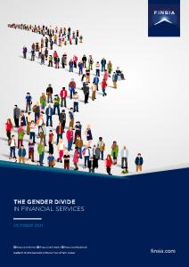 2021-10-12 FINSIA Gender Divide Financial Serv 2021 Amended embargo until 11.59PM AEDT 12Oct21