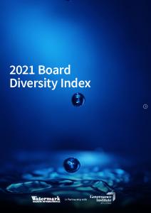 2021 Governance Institute Watermark ASX300 Board Diversity Index